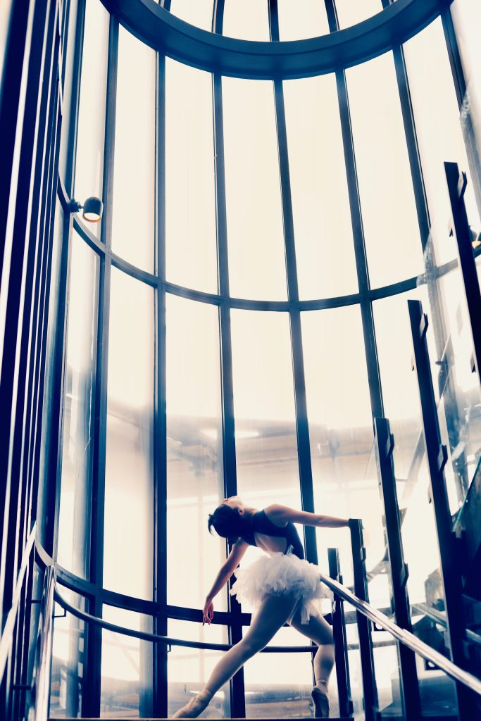 Ballerina in the cage